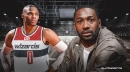 Wizards' Russell Westbrook actually got Gilbert Arenas' blessing to wear number 0