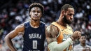 Lakers' LeBron James perplexed by current status of high school basketball, where Bronny still plays