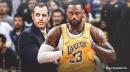The Lakers' preseason plan for LeBron James, per Frank Vogel