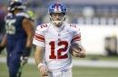 Giants will start Colt McCoy at QB vs. Browns, per reports