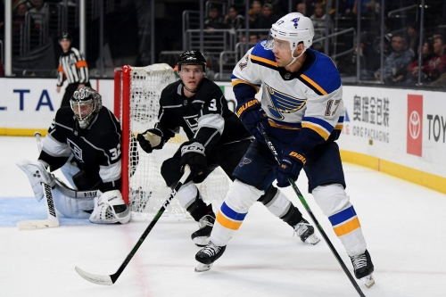 Is playing in the new West Division a good thing for the Blues?