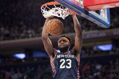 Mitchell Robinson is slated to start for Knicks in season opener vs. Pacers: source