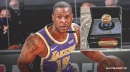 Dion Waiters in awe of his Lakers championship ring as he shows off the hardware