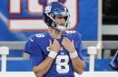 Giants-Ravens inactives: Daniel Jones playing, FB Elijhaa Penny out