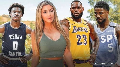 Larsa Pippen fires back at cheating accusations with Malik Beasley, link with Bronny James