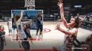 VIDEO: Robin Lopez converts on wild behind-the-basket lob shot