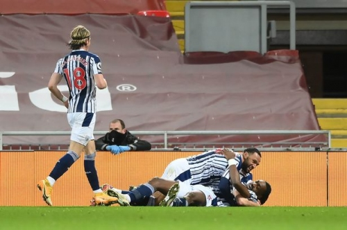 National media on the 'statement' West Brom made at Liverpool