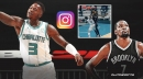 Hornets guard Terry Rozier's savage Instagram reaction to his poster dunk on Kevin Durant