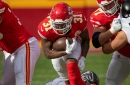 Chiefs-Falcons snap counts: Darrel Williams is top back; Gay gets a lot of work