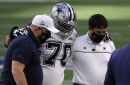 """Jerry Jones: It is """"unlikely"""" Zack Martin plays in Week 17, but there is hope if team makes playoffs"""