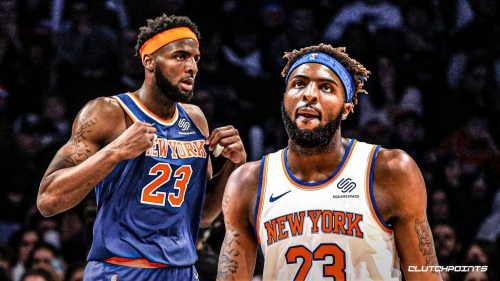 Mitchell Robinson vocal about holding on to starting spot for Knicks