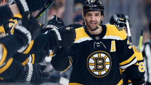 Why Chara has no doubt Patrice Bergeron will be next captain of Bruins