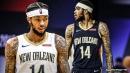 Pelicans' Brandon Ingram gets thrown out vs. Thunder for flagrant foul