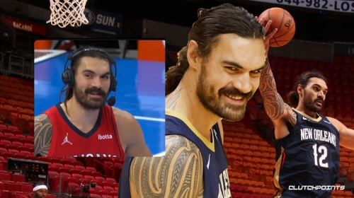 VIDEO: Steven Adams' hilarious NSFW reaction to returning to OKC to face Thunder