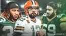 Packers' Aaron Rodgers, Aaron Jones react to David Bakhtiari tearing ACL in practice