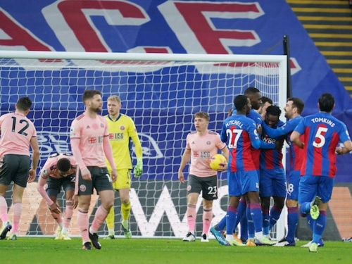 Result: Crystal Palace march to victory over coronavirus-hit Sheffield United