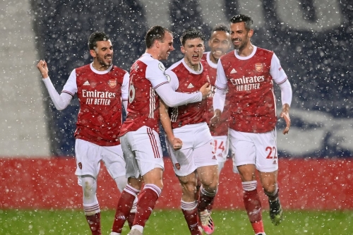 Arsenal 4 - West Bromwich Albion 0 match report: three wins is a streak