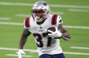Placing Damien Harris on injured reserve among six Patriots transactions ahead of season finale