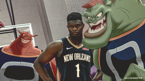 VIDEO: Pelicans seems to have been zapped by the Monstars for 15 seconds