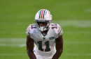Dolphins vs Bills inactive players: Jakeem Grant out for Miami, DeVante Parker available