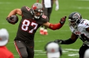 Highlights from the Bucs Week 17 victory over the Falcons