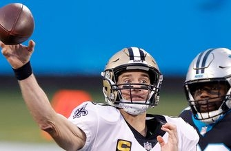 Drew Brees hits Austin Carr for 11-yard touchdown as Saints extend lead over Panthers, 33-7
