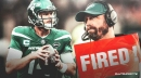 Jets QB Sam Darnold reacts to Adam Gase firing