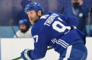 Dave Feschuk: 'I got no stress, man.' Joe Thornton's first assignment with the Maple Leafs surprises fans, but not him