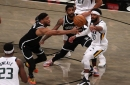 Kyrie Irving scores 29 points as Nets blow out Jazz, 130-96