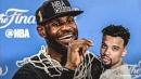 LeBron James hits super clutch shot, seemingly calls Dillon Brooks 'short'
