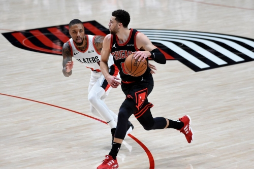 Blazers Fall to Bulls for Fourth Loss
