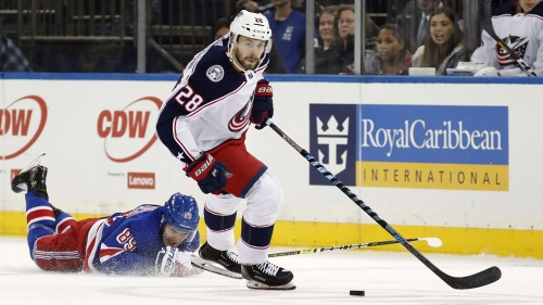 Blue Jackets sign Oliver Bjorkstrand to five-year, $27M extension