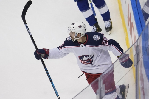 Columbus Blue Jackets sign Oliver Bjorkstrand to five year extension
