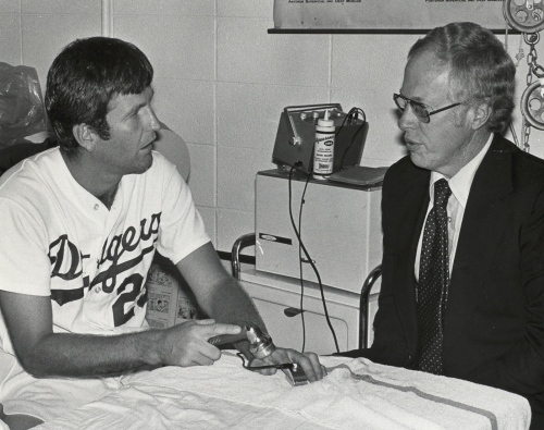 Dodger pitching great Tommy John hospitalized with COVID-19 and receiving oxygen