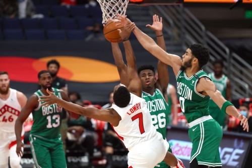 Complete team defense leads Celtics to impressive win against the Raptors