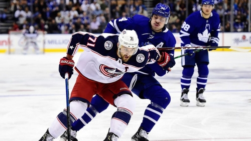 Foligno says Blue Jackets' confidence shocked Maple Leafs during playoffs