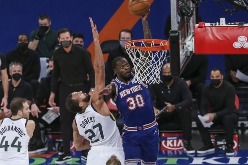 Knicks 112, Jazz 100: Scenes from Austin Rivers, Clutch King of MSG