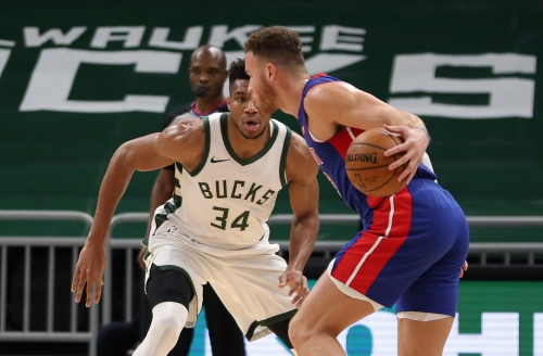 Detroit Pistons see career-best performance from Saddiq Bey, crushed by Bucks, 130-115