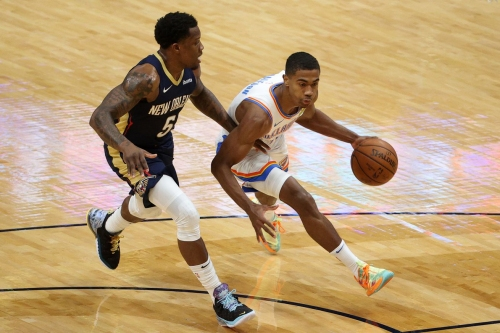 Thunder escape New Orleans with 111-110 win