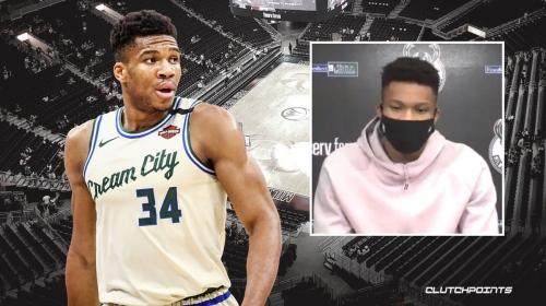 Giannis Antetokounmpo issues powerful statement on being Black in America