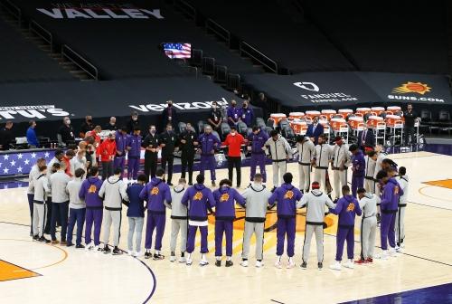 Phoenix Suns, Toronto Raptors show unity in wake of Capitol Hill uproar