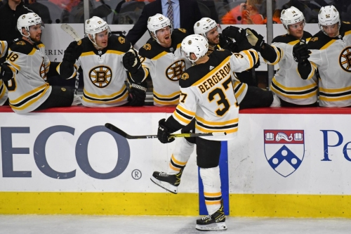 Patrice Bergeron named captain of the Boston Bruins