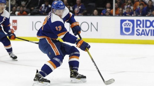 What is holding up Mathew Barzal's contract extension with Islanders?