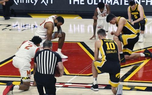 Terps vs. Iowa in men's basketball | PHOTOS