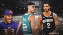 Lonzo Ball dishes on highly anticipated matchup against brother LaMelo