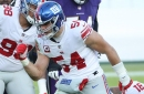 Giants shut out in voting for AP All-Pro team