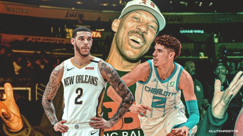 VIDEO: Lonzo Ball, LaMelo Ball exchange buckets in Hornets-Pelicans game