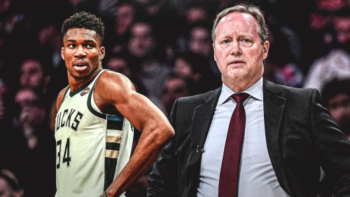 Giannis Antetokounmpo's availability for Bucks still uncertain after scary fall