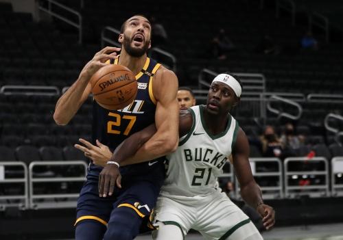 Photos: Jazz 131, Bucks 118