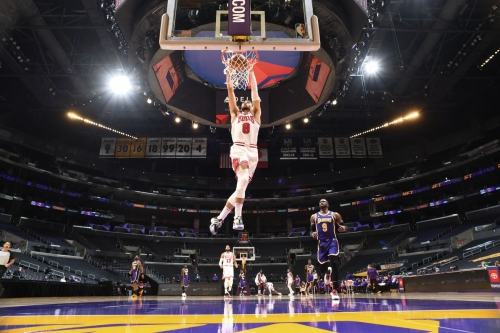 Bulls vs. Lakers final score: 38 points from Zach LaVine isn't enough in 117-115 loss